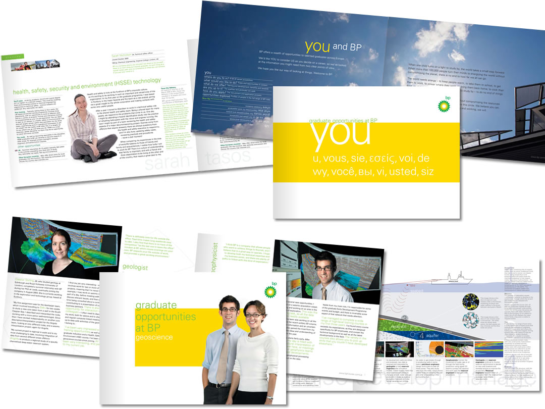 bp graduate recruitment brochures