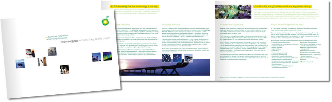 bp technology brochure