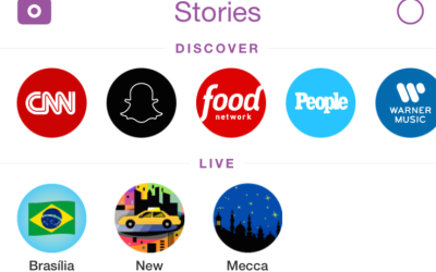 "Snapchat Redesign Moves ""Discover"" To Top Of Stories Tab"