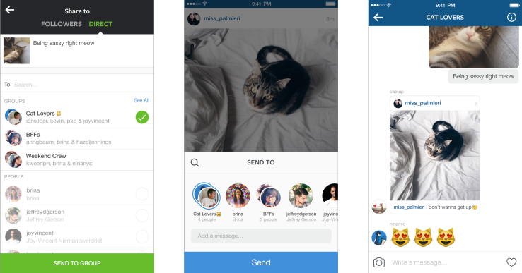 Instagram Direct's 85M Users Can Now Reply With Photos In Snapchat-Style Visual Convos