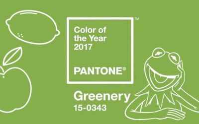Greenery! Pantone colour of the year 2017